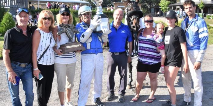 Niceandup nouvelle championne du 5 Milles Casino-Charlevoix
