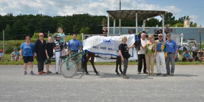 Bemmol Kalie remporte l'Amble André-Drolet à St-Hugues