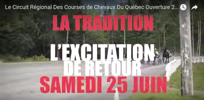 Vidéo promo début saison 2016 à St-Hugues