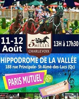 Les partants de la 108e édition du 5 milles Casino-Charlevoix