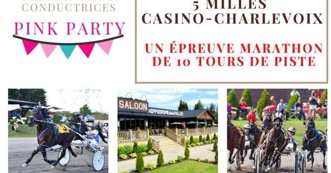 Place au week-end de la 109e édition du 5 Milles Casino-Charlevoix